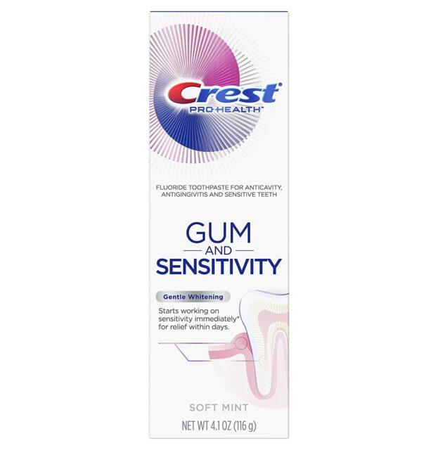 Gum and Sensitivity, Sensitive Toothpaste, Gentle Whitening Soft Mint1
